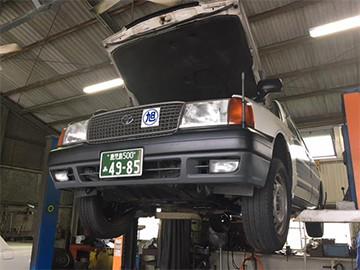 安心な車両整備